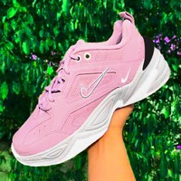 Nike M2K Tekno Trending Women Casual Sneakers Sport Shoes Pink