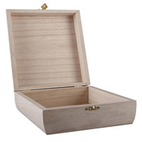 ArtMinds® Curved Sides Wooden Box