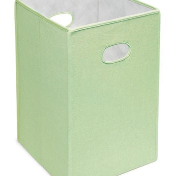 Badger Baskets Folding Hamper Storage Bin (Sage)