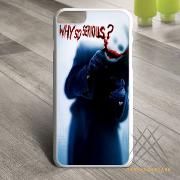 Collection-Why-So-Serious-Joker Custom case for iPhone, iPod and iPad