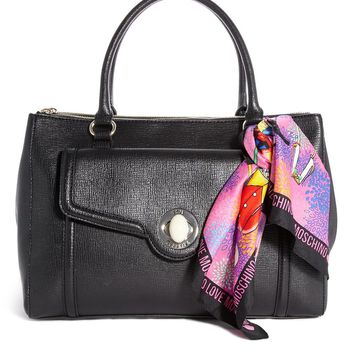 Love Moschino I Love Foulard Shoulder Bag