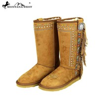 BST-028 Montana West Fringe Collection Boots