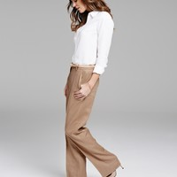 Smart Linen Pants | Pure Clothing | Pure Collection USA