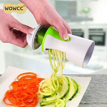 Vegetable Spiral Slicer Salad Tools Spiral Vegetables Fruit Slicer Zucchini Pasta Noodle Spaghetti Maker