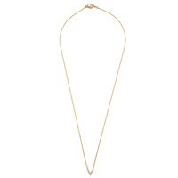 Pave V Necklace (Gold)