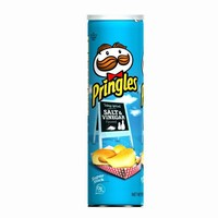 Pringles Potato Crisps Super Stack, Salt & Vinegar, 6.38-Ounce Tubes (Pack of 14)