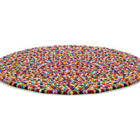 Pinocchio Rug - Ø 90 cm by Hay - Rugs - Decoration