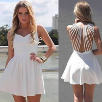 CUTE HOLLOW OUT SEXY DRESS