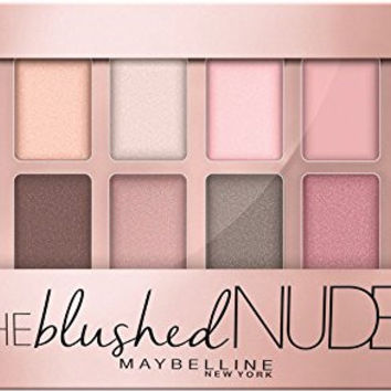 The Blushed Nudes, 0.34 Oz. 12 Shade Makeup Eye Shadow Palette - Maybeline New York