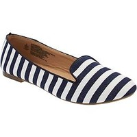 Women's Patterned Smoking Flats