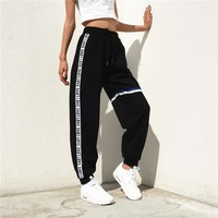 Women's Fashion Summer Patchwork Casual Pants Scales [526039351311]