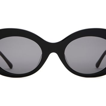 Crap Eyewear - Love Tempo Black Sunglasses / Grey Lenses