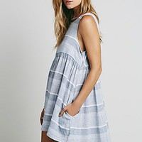Free People Womens Wide Eyes Babydoll Dress