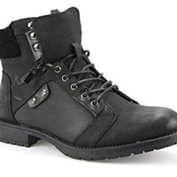 New Men's Shahin-01 Ankle High Fur Lined Winter Boots
