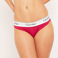 Calvin Klein Tinted Rose Knickers - Urban Outfitters
