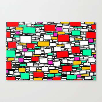 toy Stretched Canvas by E. Rose