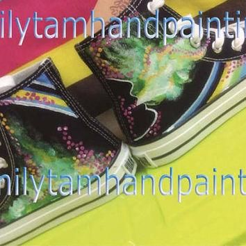 Custom Converse Sneakers,Custom Converse, Fashion Shoes, Special Gifts for Boys and Gi