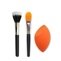Sponge Makeup Brush Set Foundation Blush Beauty Cosmetic Make up Powder Brush Sponge Puff Wash Brushes Tools