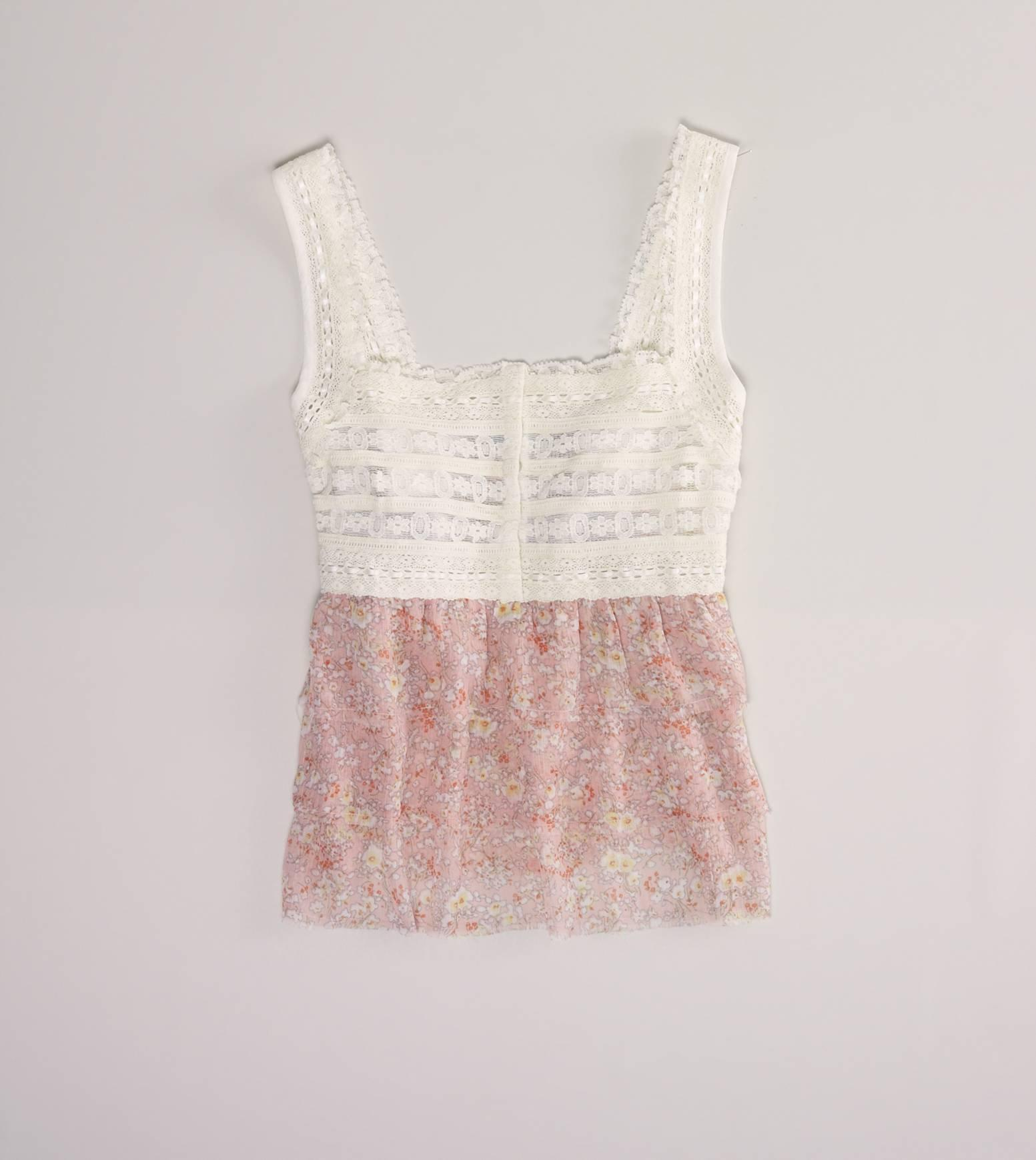 AE Floaty Ruffle Cami | American Eagle Outfitters