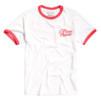 Disney Toy Story Pizza Planet Ringer T-Shirt