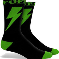 Fuel Crew Socks Shazam Black/Green