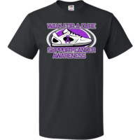 Get moving and take a walk to support a cause with Pancreatic Cancer Walk For A Cure T-Shirt