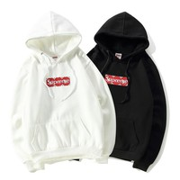 Supreme x LV Fashion Pullover Print  Hoodie Tops Sweater