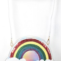 Sequin Over The Rainbow Mini Bag