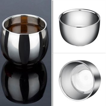 120ML / 200ML Thickened Stainless Steel Espresso Coffee Milk Mugs thermo Frothing Pitcher Steaming Frothing Pitcher
