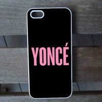 Beyoncé Yoncé iPhone 5S Case iPhone 5 Case iPhone 4S Case iPhone 4 Case Samsung Galaxy S3 Samsung Galaxy S4