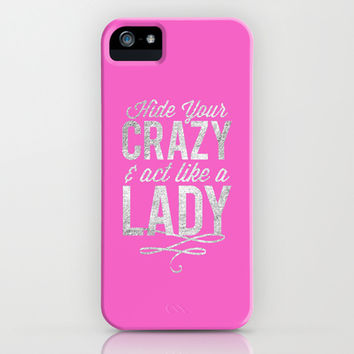 Hide Your Crazy iPhone & iPod Case by LookHUMAN