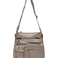 Zip Pocket Crossbody Bag | Wet Seal