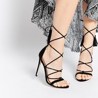 ASOS HINDSIGHT Heeled Sandals