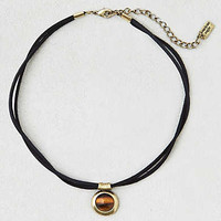AEO Tiger's Eye Choker Necklace, Black