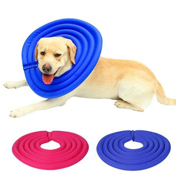 Pet Dog Cat Protective Recovery E-Collar puppy kitty recovery collar neck accessory supply 2017 S/M/L/XL/XXL