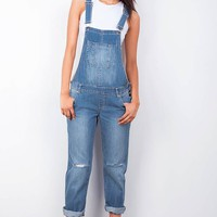 Retrograde Denim Overalls