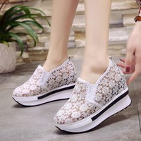 Women Casual Shoes Breathable Mesh