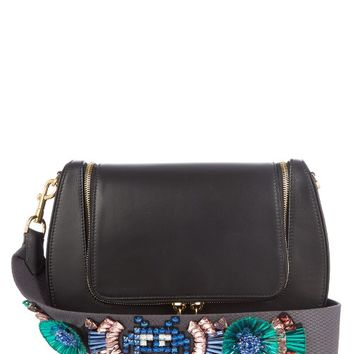 Space Invaders Vere leather cross-body bag | Anya Hindmarch | MATCHESFASHION.COM US