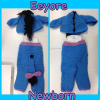 Eeyore pants and hat