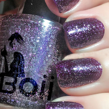 Boii Nail polish - blue in a minute