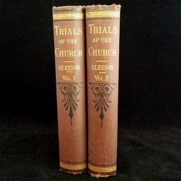 Trials of the Church Complete Set, 1880