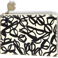 Kate Spade New York Literary Glasses Pencil Pouch Set
