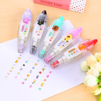 1 x cute animals masking tape kawaii stationery for student school supplies DIY scrapbooking Stickers