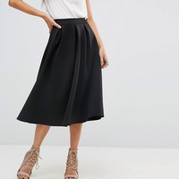 Outrageous Fortune Full Prom Scuba Midi Skirt at asos.com