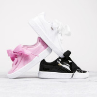 """ PUMA"" Rihanna Bows White Running Shoes Shoes"