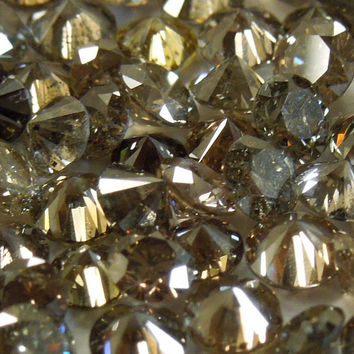 5 � 25 Pointer melee diamond parcel 30 carat champagne SI1/I1 round cut melees