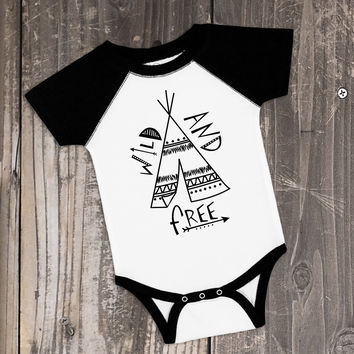 Wild and Free - Boho Baby Outfit