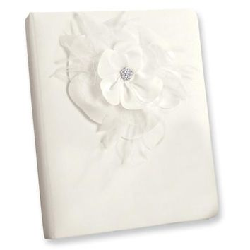 Ivory or White Somerset (Holds 240 Signatures, 3 Ring Binder) Memory Book