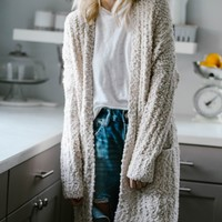 Warm Wishes Cream Cardigan