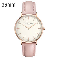Gold Quartz Water Resistant Watch 3ATM Dress Quartz Wrist Watch Women Dress Sports Men Famous Ultra-thin minimalist design